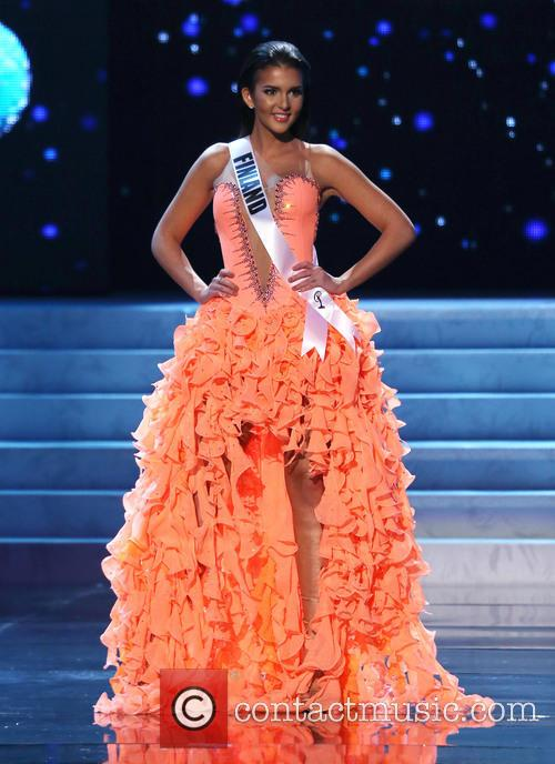 Sara Chafak; Miss Finland 2012 Miss Universe Pageant...