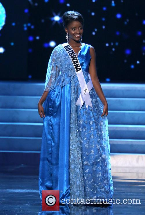Sheillah Molelekwa; Miss Botswana 2012 Miss Universe Pageant...