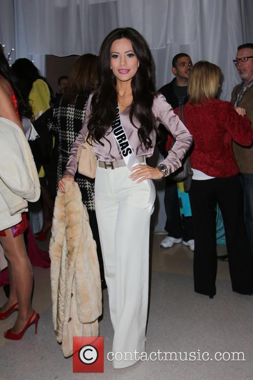 Miss Honduras Jennifer Andrade Miss Universe 2012 Pageant...