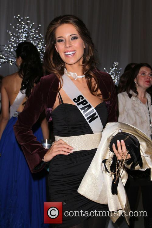Miss Spain Andrea Huisgen Miss Universe 2012 Pageant...