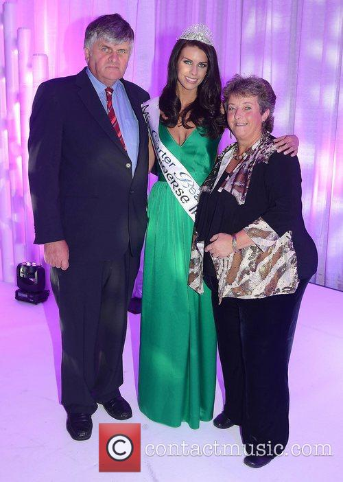 Adrienne Murphy is crowned Miss Universe Ireland 2012...