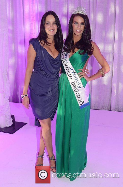 Andrea Roche & Adrienne Murphy attend the Miss...