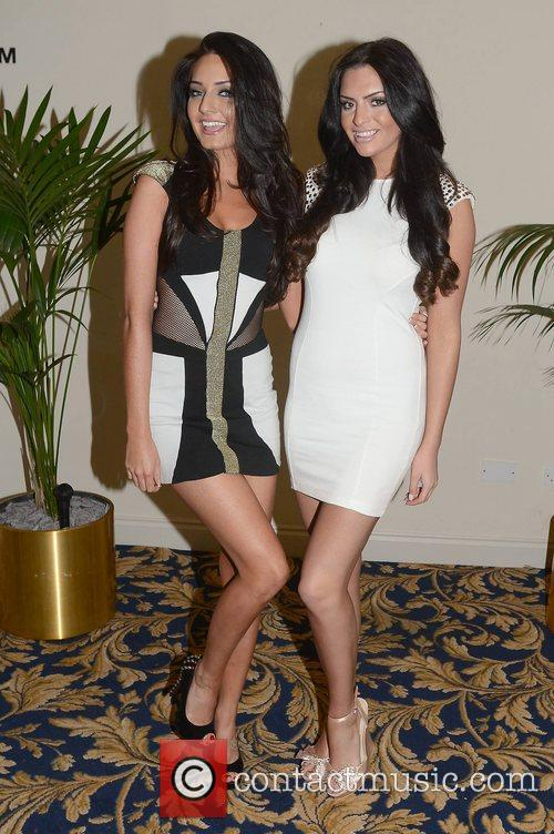 Faye Rooney, Lisa Nolan attend the Miss Universe...