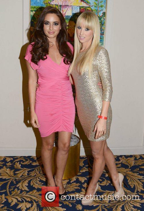 Nadia Forde, Debbie O'Leary attend the Miss Universe...