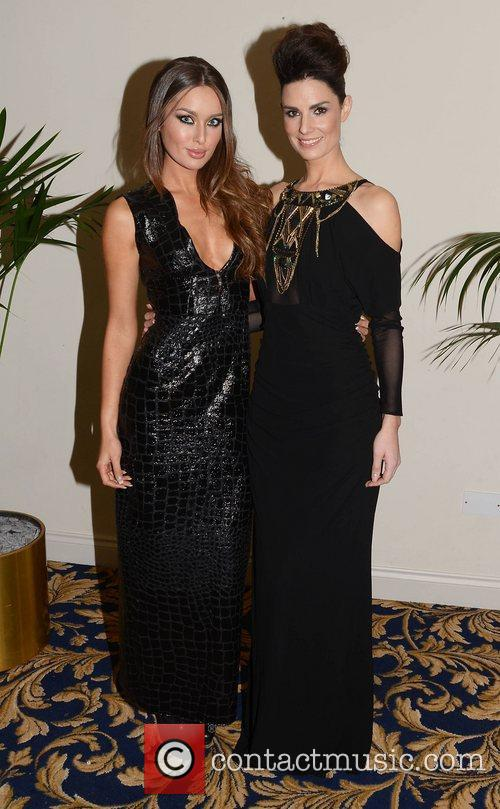 Rozanna Purcell, Alison Canavan attend the Miss Universe...