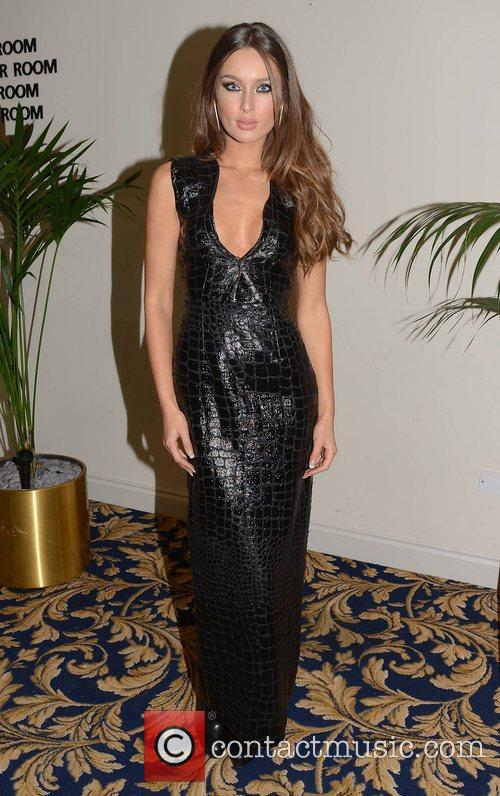 Rozanna Purcell attend the Miss Universe Ireland 2012...