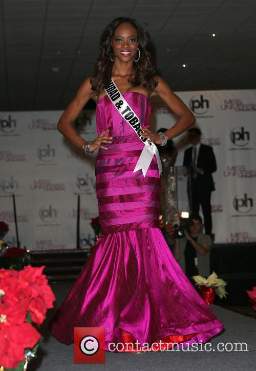 Miss Universe Arrivals, Planet Hollywood Resort and Casino Las Vegas 3