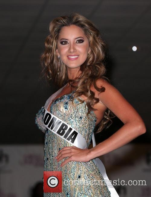 Miss Universe Arrivals, Planet Hollywood Resort and Casino Las Vegas 4