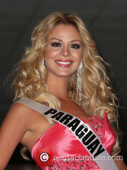 Miss Universe Arrivals, Planet Hollywood Resort and Casino Las Vegas 11