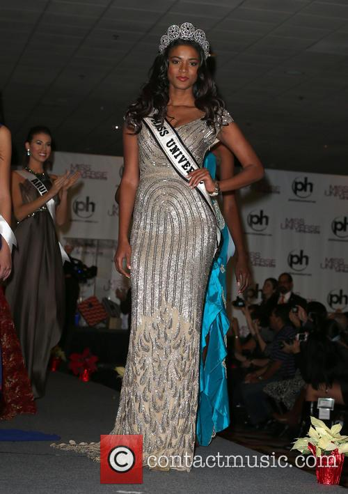Miss Universe Arrivals, Planet Hollywood Resort and Casino Las Vegas 7