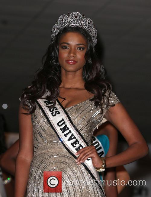 Miss Universe Arrivals, Planet Hollywood Resort and Casino Las Vegas 2