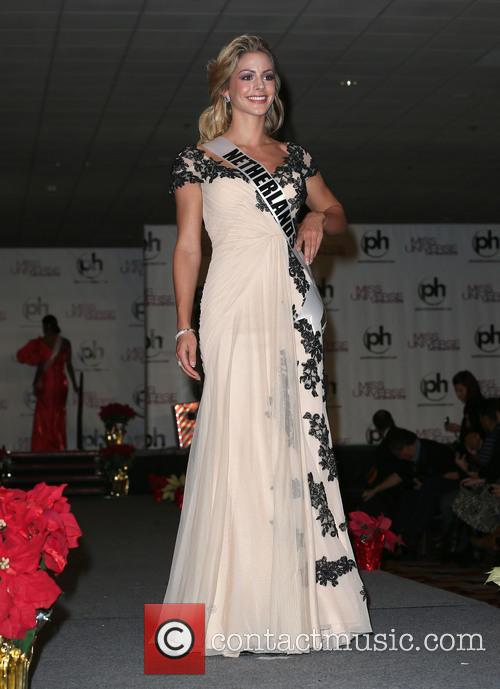 Miss Universe Arrivals, Planet Hollywood Resort and Casino Las Vegas 8