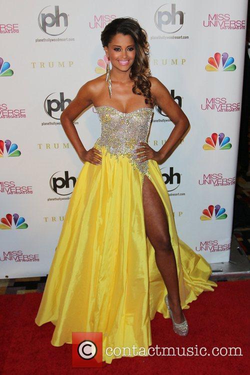 Claudia Jordan 2012 Miss Universe Pageant at Planet...