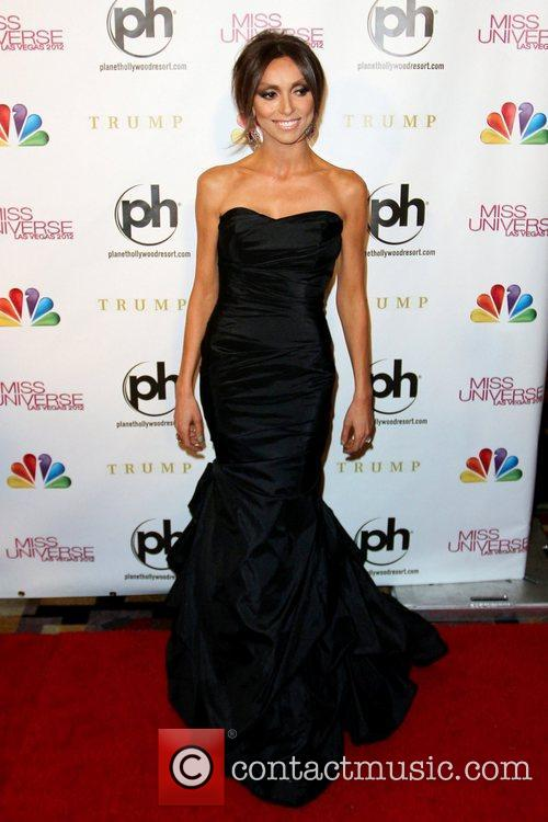 Giuliana Rancic 2012 Miss Universe Pageant at Planet...