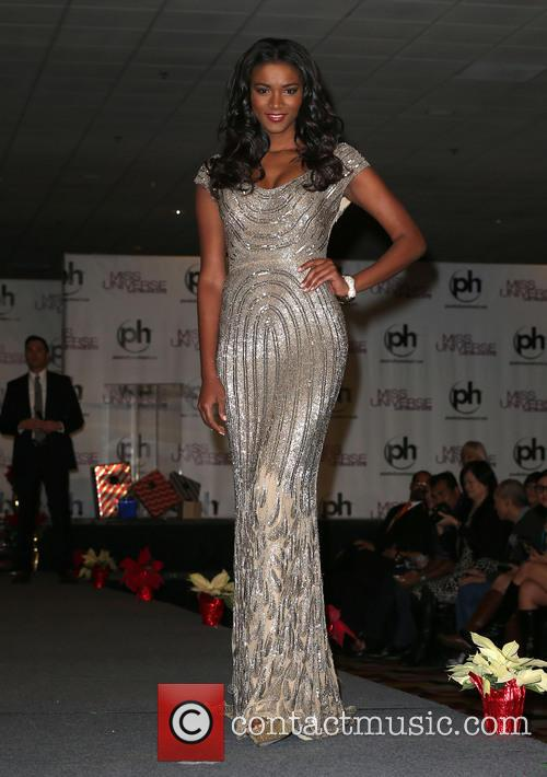 Miss Universe Arrivals at Planet Hollywood Resort and...