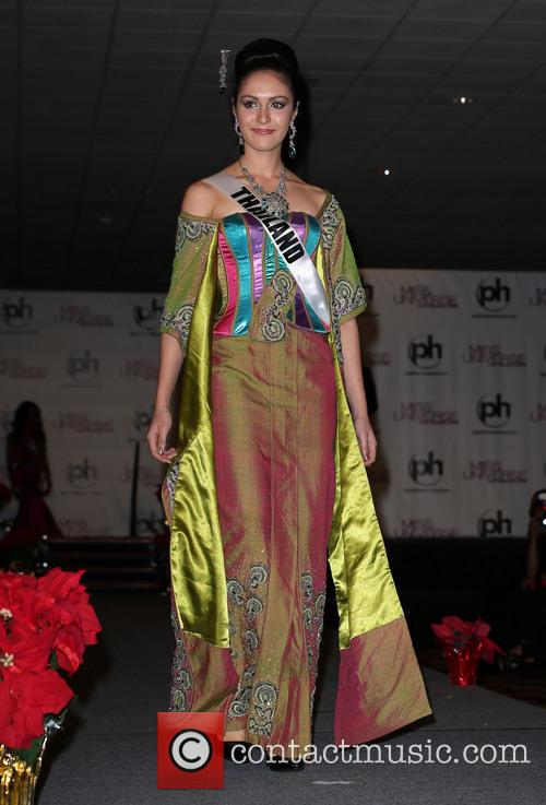 Miss Universe Arrivals, Planet Hollywood Resort and Casino Las Vegas 1
