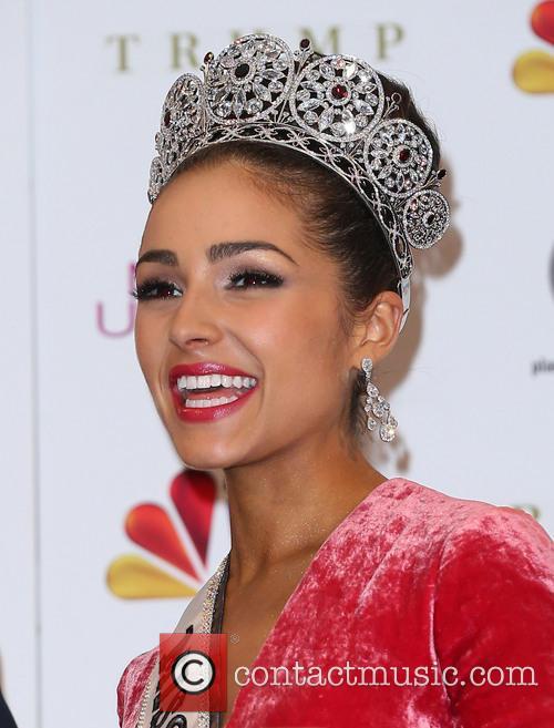 Miss Universe Las Vegas 2012 Press Room at...
