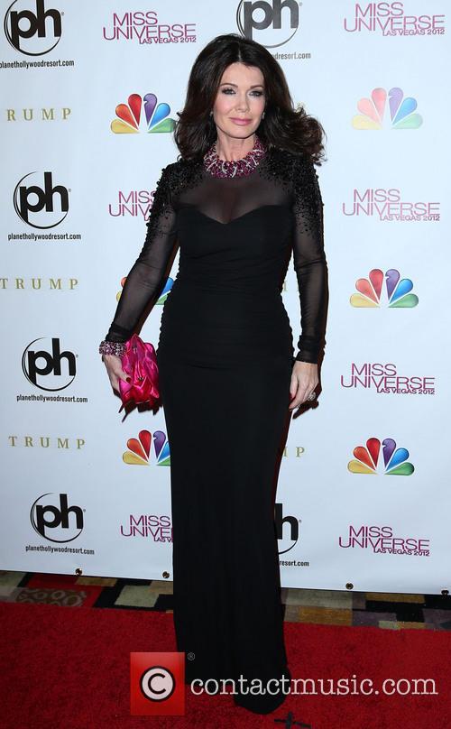 Lisa Vanderpump Miss Universe Las Vegas 2012 at...