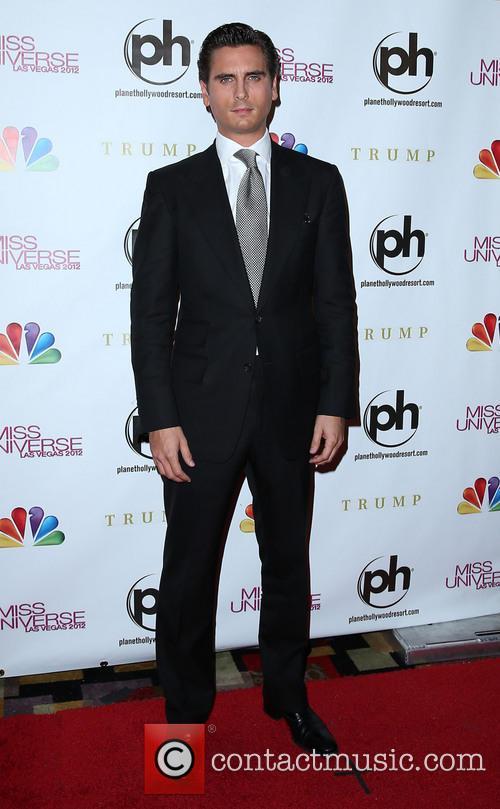 Scott Disick Miss Universe Las Vegas 2012 at...