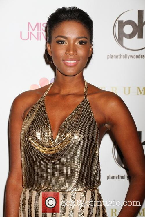 Leila Lopes and Planet Hollywood 2