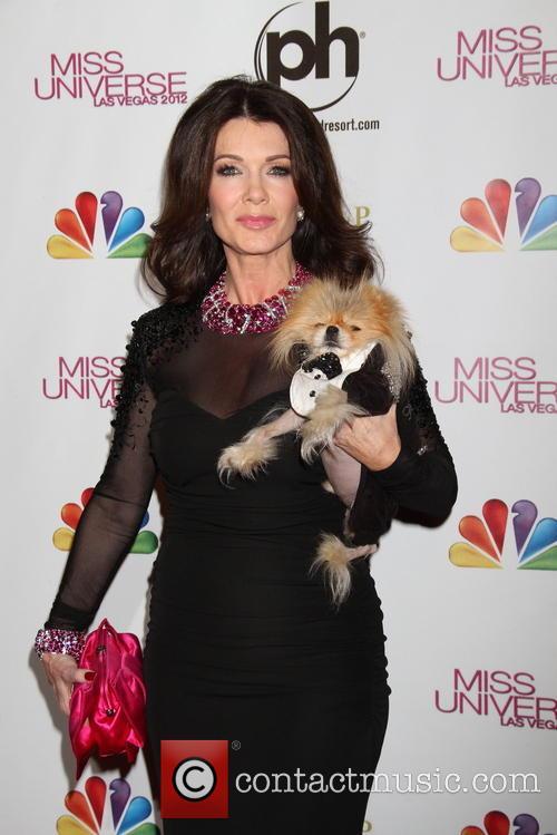 Lisa Vanderpump; Giggy Miss Universe Las Vegas 2012...