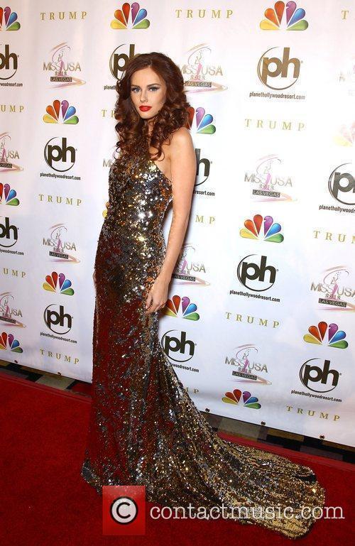 Alyssa Campanella 2012 Miss USA Pageant at Planet...