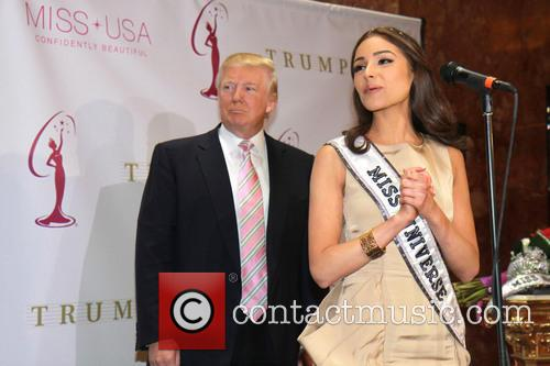 Donald Trump and Miss Universe Olivia Culpo 3