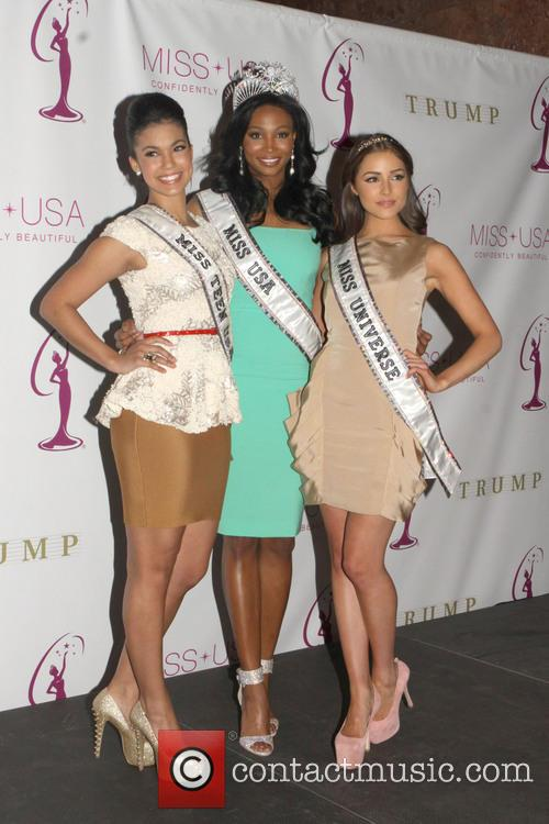Miss USA Crowning Ceremony hosted by Donald Trump...