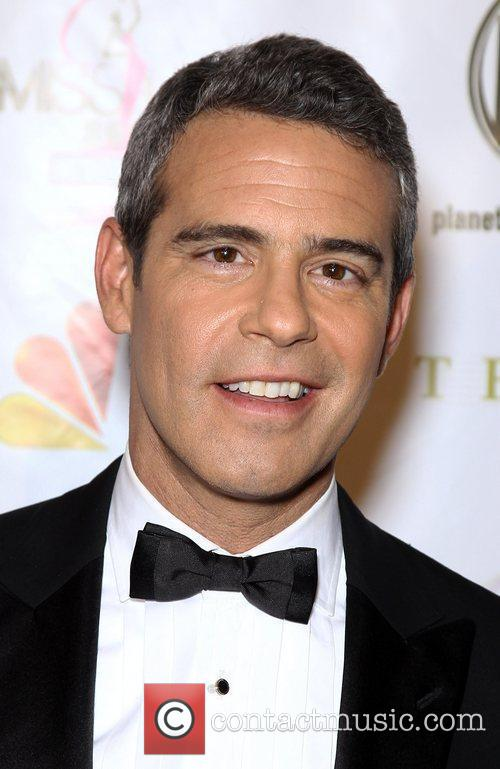 Andy Cohen 2012 Miss USA Pageant at Planet...