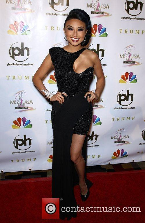 Jeannie Mai 2012 Miss USA Pageant at Planet...