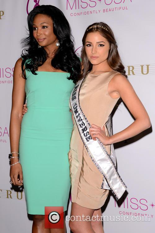 Miss Usa Nana, Meriwether and Miss Universe Olivia Culpo 6