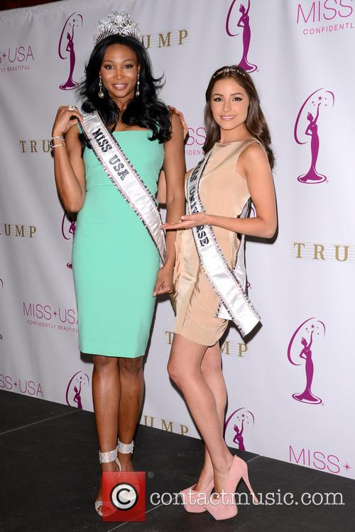 Miss Usa Nana, Meriwether and Miss Universe Olivia Culpo 9