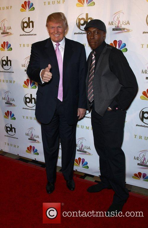 Donald Trump and Arsenio Hall 5