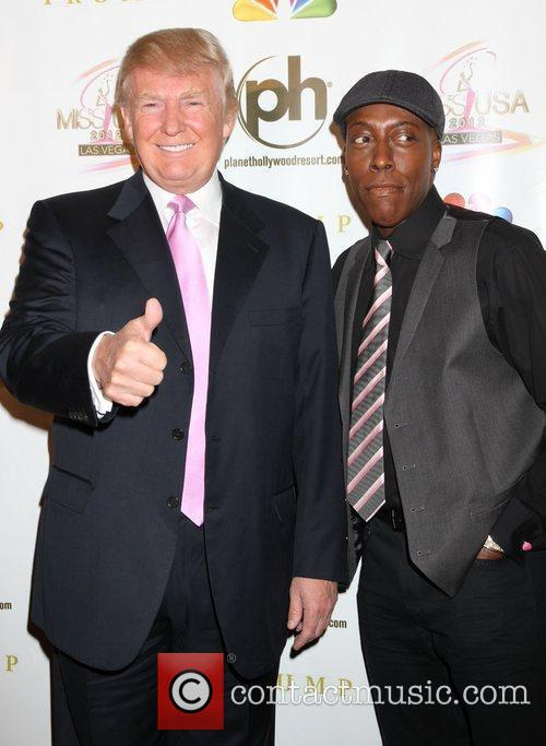 Donald Trump and Arsenio Hall 6