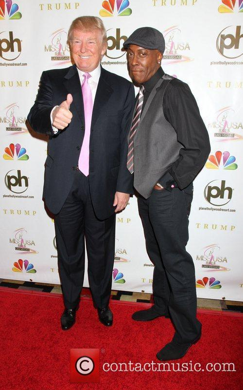 Donald Trump and Arsenio Hall 7