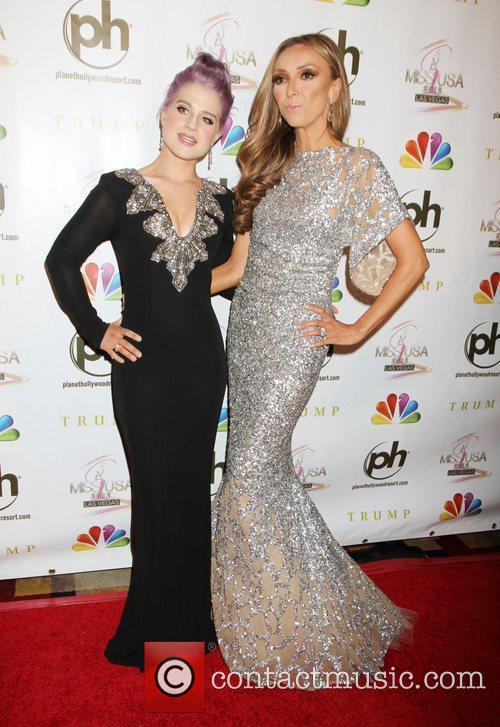 Kelly Osbourne, Giuliana Depandi and Planet Hollywood 4