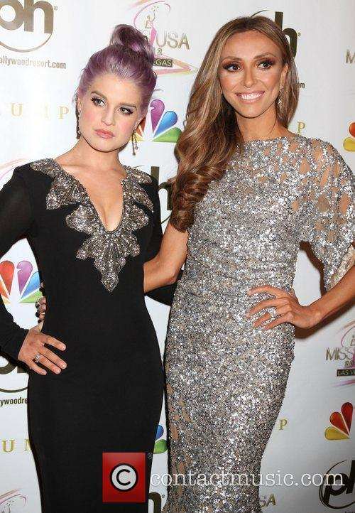 Kelly Osbourne, Giuliana Depandi and Planet Hollywood 6