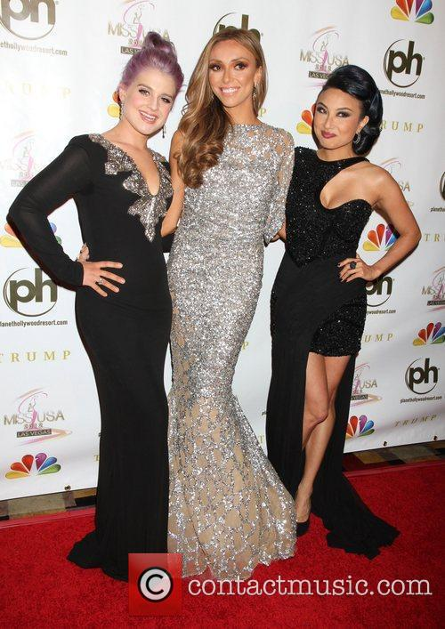 Kelly Osbourne, Giuliana Depandi and Planet Hollywood 7