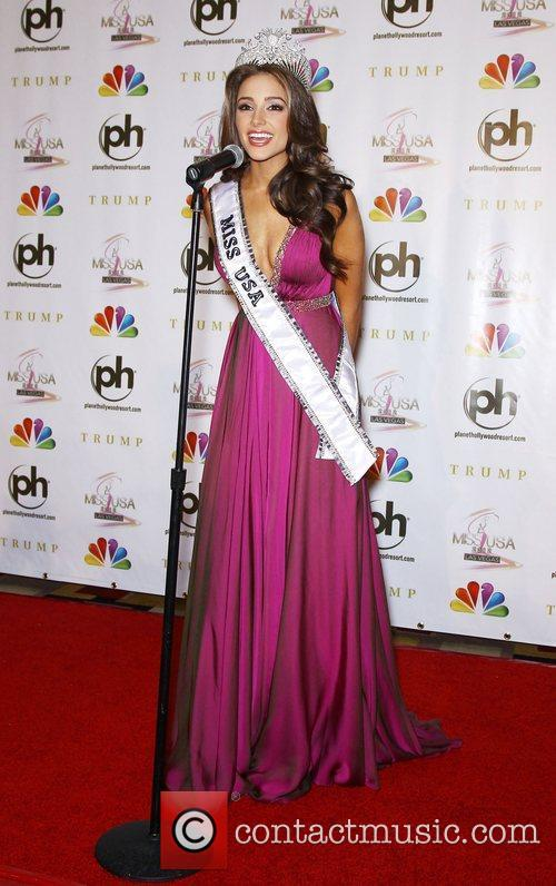 Press conference to introduce the 2012 Miss USA...
