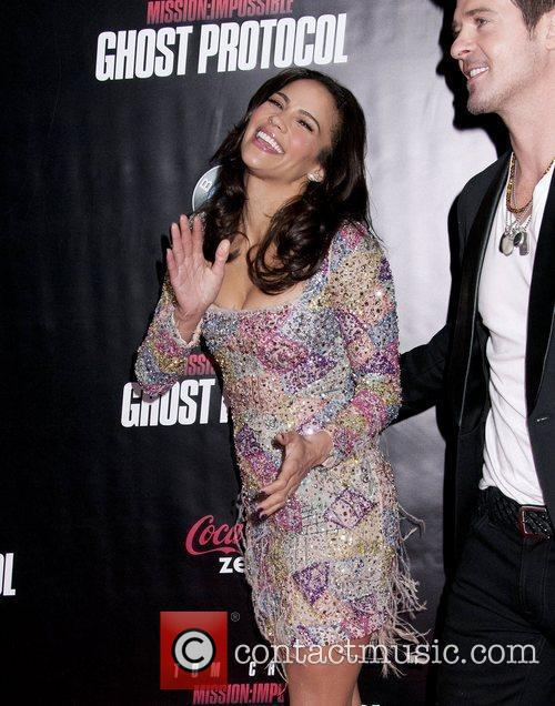 Paula Patton and Ziegfeld Theatre 15