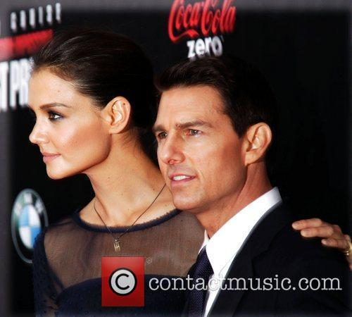 Katie Holmes, Tom Cruise and Ziegfeld Theatre 17