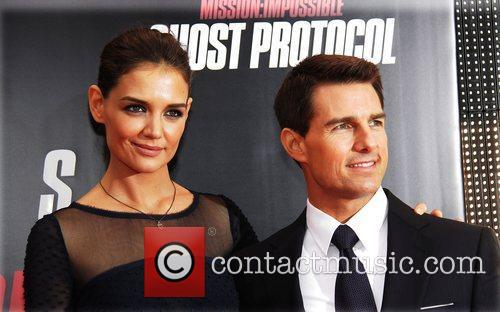 Katie Holmes, Tom Cruise and Ziegfeld Theatre 19