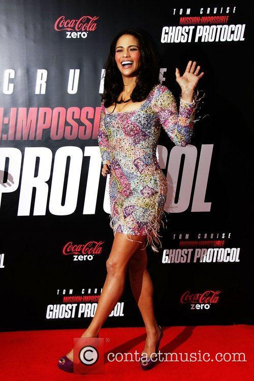 Paula Patton and Ziegfeld Theatre 16