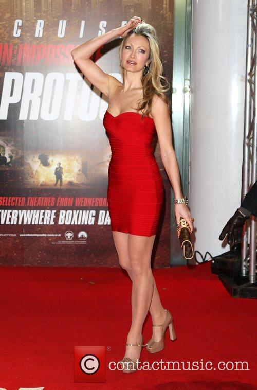 caprice mission impossible   ghost protocol premiere   arrivals 3655840