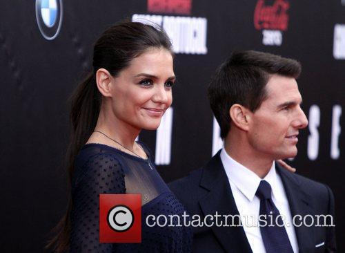Katie Holmes, Tom Cruise and Ziegfeld Theatre 20