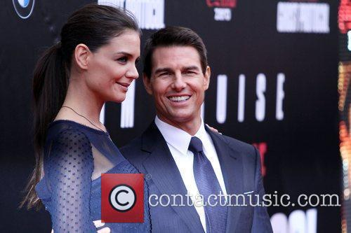 Katie Holmes, Tom Cruise and Ziegfeld Theatre 22