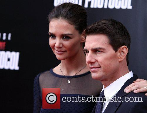 Katie Holmes, Tom Cruise and Ziegfeld Theatre 23