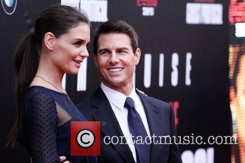 Katie Holmes, Tom Cruise and Ziegfeld Theatre 24