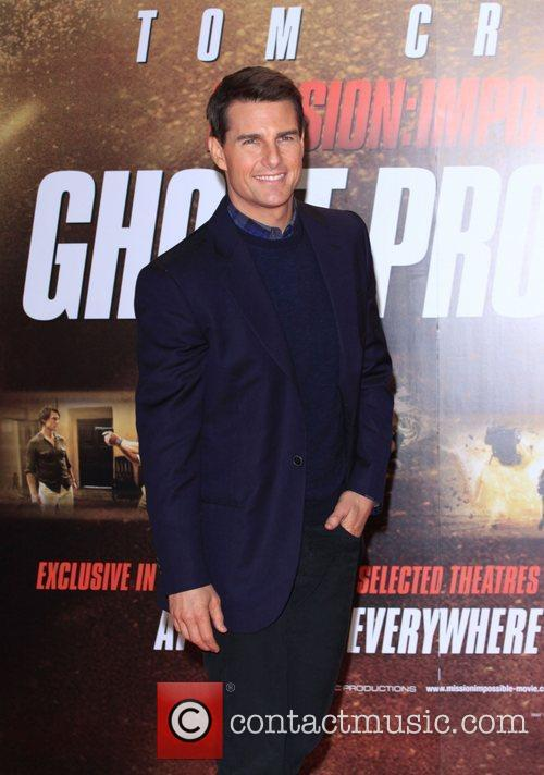 Tom Cruise Mission: Impossible Ghost protocol premiere -...