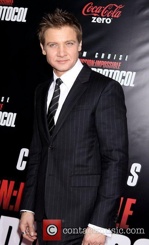 Jeremy Renner and Ziegfeld Theatre 11